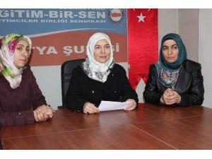 Eğıtim Bir-sen Kadın Kollarından Kılıçdaroğlunu Tepki