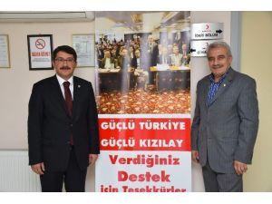 Çelik'ten Yurdabekçi' Ye Hayırlı Olsun Ziyareti