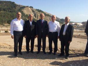 Vali Demirtaş, Adıyamanlılar Vakfı Başkan Ve Üyelerine Beşpınar Projesini Gezdirdi