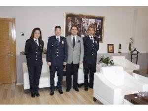Foça'da Polis Haftası Ziyaretlerle Başladı