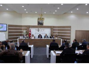 Niğde Belediye Meclisi Nisan Ayı Toplantısını Yaptı