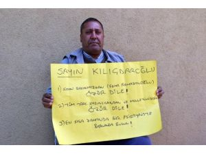 Engelli Vatandaştan Kılıçdaroğlu'na Tepki