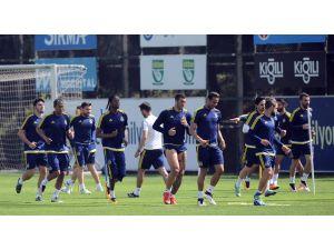 Fenerbahçe, Torku Konyaspor maçının hazırlıklarını sürdürdü