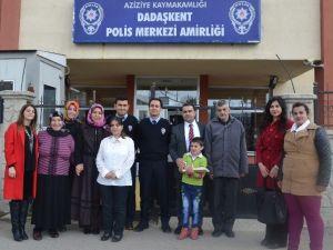 Engellilerden Polis Haftası Ziyareti