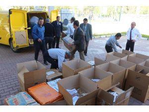 Niğde'den Nusaybin'de Görev Yapan Asker Ve Polise Yiyecek Gönderildi