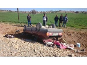Beyşehir'de Otomobil Devrildi: İki Yaralı