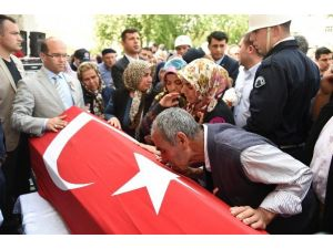 Tarsus Şehit Polis Dualarla Uğurlandı