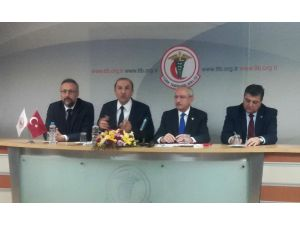 Kılıçdaroğlu, Türk Tabipleri Birliği'nde konuştu
