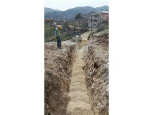 Sebil'de Kanalizasyon İnşaatı Hızla İlerliyor