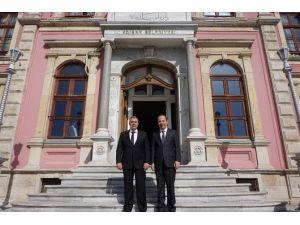 Edirne İl Emniyet Müdürü Erdoğan'dan, Gürkan'a Ziyaret