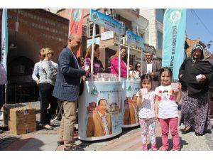 Edirne Belediyesi'nden Kandil Simidi İkramı