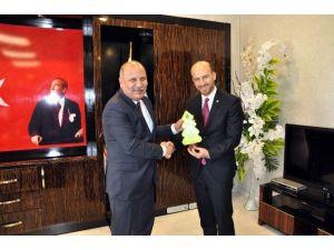 Gagiad Yönetim Kurulu Cumhuriyet Başsavcısı Abdullah Bayır'ı Ziyaret Etti