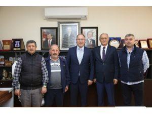 SESOB Başkanı Alişan'dan, Başkan Aydın'a Ziyaret