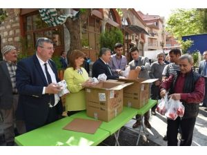Başkan Çerçi Vatandaşların Regaip Kandili'ni Kutladı