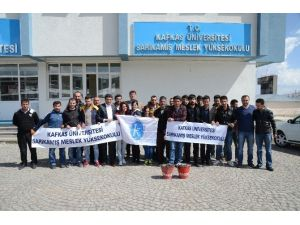Sarıkamış'ta Akademisyenler İle Öğrenciler Sigarayı Bıraktı