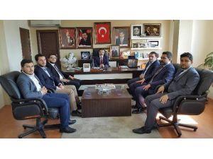 Genel Başkan Ecertaş AK Parti Çorum İl Başkanı'nı Ziyaret Etti