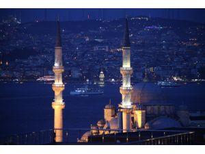 Regaip Kandili, Sultanahmet Camii'nde coşku ile karşılandı