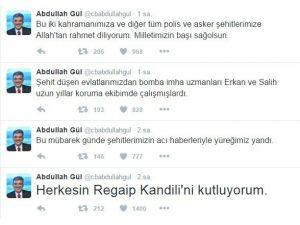 Abdullah Gül'ün Koruma Ekibinde Yer Alan İki Bomba Uzmanı Nusaybin'de Şehit Oldu