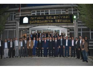 Bakan Bozdağ'dan Tatvan Ziyareti
