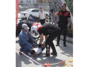 Polisi Görüp Kaçınca Yakalandı