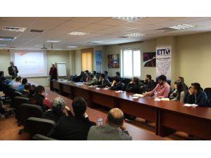 Erciyes Teknopark'ta Horizon 2020 Programı Kapsamında Tecrübe Paylaşımı Semineri Düzenlendi