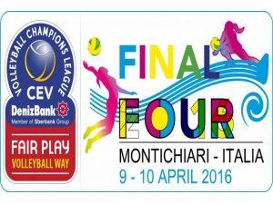 CEV DenizBank Bayanlar Şampiyonlar Ligi 4'lü Finali yarın başlıyor
