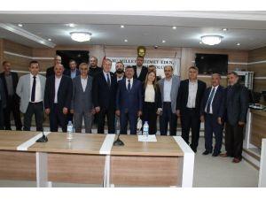 Niğde Belediye Başkanı Akdoğan Ve Belediye Meclis Üyelerinden Küçüktuna'ya Ziyaret