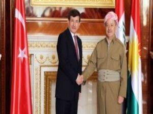 Davutoğlu: PKK Barzani'yi Tehdit Ederse Bunu Kendimize Yapılmış Sayarız