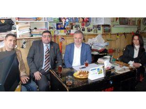 Milletvekili Bilgen'den, KKDGC Başkanı Daşdelen'e Tebrik Ziyareti