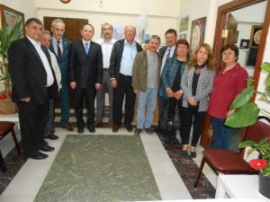 MHP İl Teşkilatından Gümüşhaneliler Derneği'ne Ziyaret