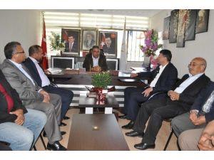 Başkan Turgut'tan AK Parti Yönetimine Hayırlı Olsun Ziyareti