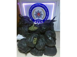 Şanlıurfa'da 75 Kilo Esrar Ele Geçirildi