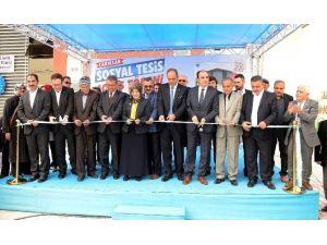 Meram'da Çarıklar Sosyal Tesisi Açıldı