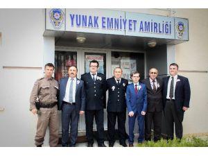 Yunak'ta Polis Haftası Kutlanıyor