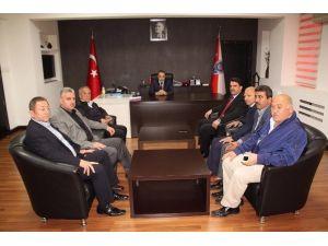 AK Parti'den Emniyet Müdürü Fahri Küçük'e Ziyaret