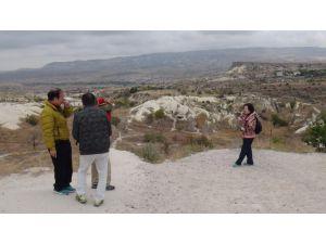 Kapadokya'ya 3 ayda ziyaretçi sayısı 182 bin oldu