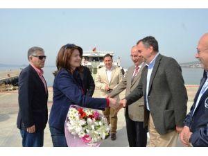Yunanistan'ın Yeni İzmir Başkonsolosu Ayvalık'ta