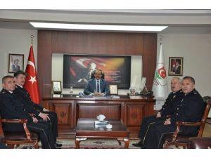 Emniyet Personelinden Vali Yavuz'a Ziyaret