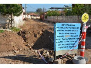 Ahmetli'ye Kanalizasyon Hamlesi