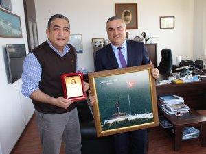 Trabzon Artvinliler Derneği Başkanı Hopaport'u ziyaret etti