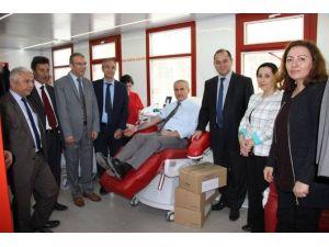 Geleceğin Kan Bağışcıları Kazanımı Kampanyası Start Aldı