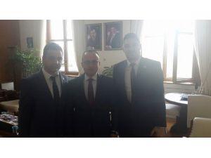 Zonguldak Sağlık-sen'den AK Parti Grup Başkan Vekili Bülent Turan'a Ziyaret