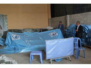 Cihanbeyli Belediyesinden Taziye Çadırı Hizmeti