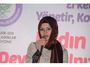 CHP Liderine Bir Tepki De Memur-sen Bilecik İl Temsilciliği Kadın Komisyonu Başkanlığı'ndan