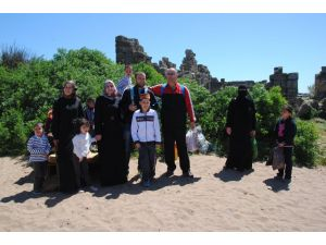 Side Antik Kent'te Arap turistlere yönelik kültür turları ilgi görüyor