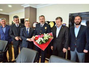 Memur-sen'den Emniyet Müdürü Osman AK'a Ziyaret