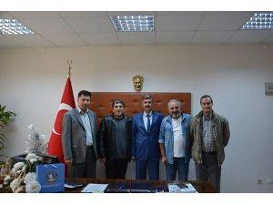 Gazetecilerden Dursun Çakır'a Tebrik