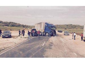 Mardin'de kaza:1 ölü, 4 yaralı