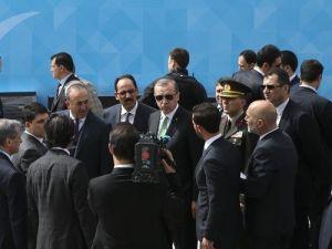 Erdoğan, İstanbul Kongre Merkezi'nde incelemelerde bulundu