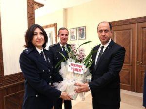 Vali Çomaktekin'den Polis Teşkilatına Kutlama